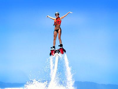 chơi Fly board tại Rạch Vẹm
